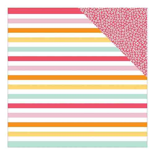 "Summer Sun Double-Sided Cardstock 12""X12"" Just Beachy"