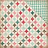 "Handmade Quilt  Double-Sided Cardstock 12""X12"""