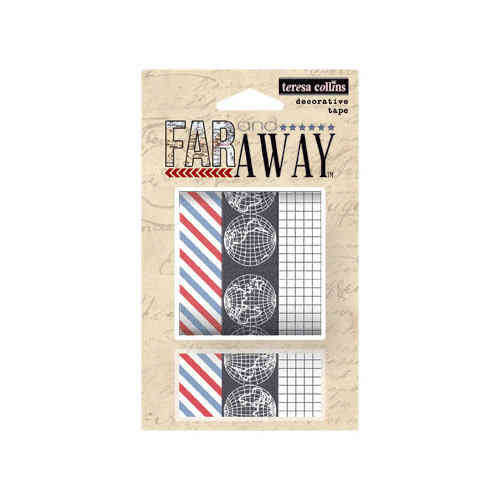 Teresa Collins - Washi Tape Set - Far away