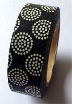 Miscellany - Washi Tape - Black Dots