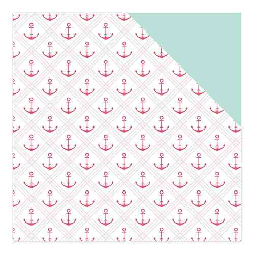 "Summer Sun Double-Sided Cardstock 12""X12"" Anchored"