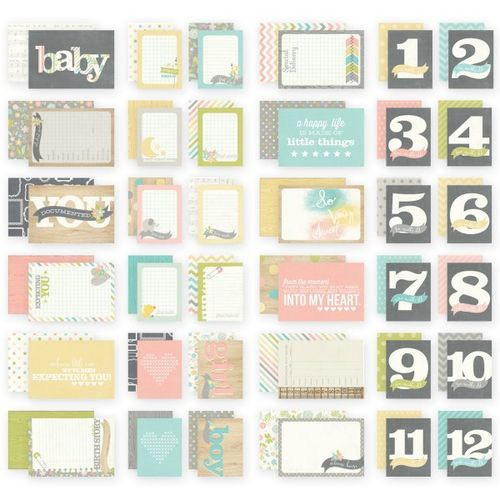 Karten Set - Hello Baby- SN@P! 36 Journaling Cards