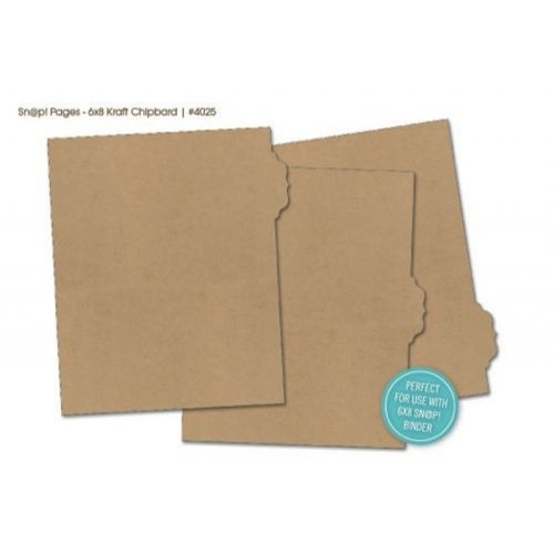 3 Chipboard Register // Divider Refills