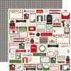 Weihnachtspapier Christmas delivery - Cardstock 12 x 12