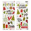 96 Weihnachtssticker Holly Jolly - American Crafts
